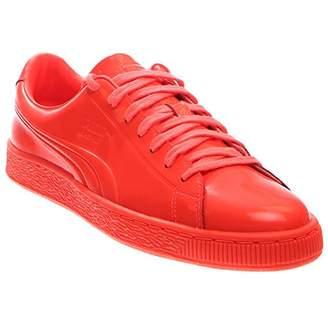 Puma Men's Basket Classic Patent Emboss Fashion Sneaker
