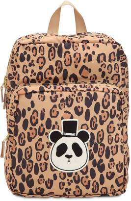 Mini Rodini Printed Nylon Canvas Backpack