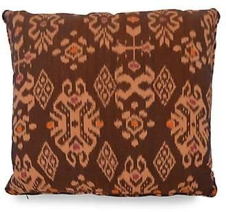 Dacor Andrianna Shamaris Ikat Cotton Pillow
