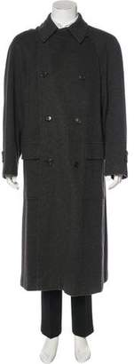 Hermes Double-Breasted Cashmere Overcoat