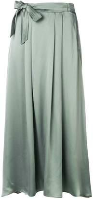 Forte Forte knot detail silk skirt