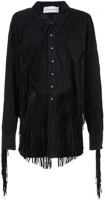 Faith Connexion fringed jacket
