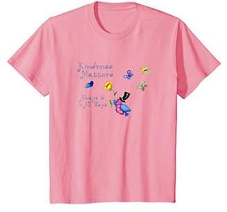 Kindness Matters Always Inspirational Kind Butterfly Shirt