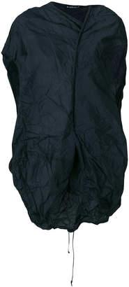 Rundholz asymmetric wrinkled blouse