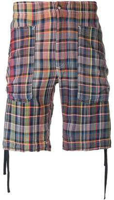 Missoni plaid shorts