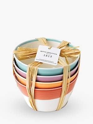 Royal Doulton 1815 Cereal Bowl, Multi, Set Of 4