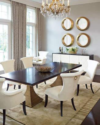 Bernhardt Jet Set Dining Arm Chairs (Each)