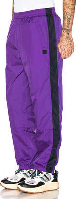 Acne Studios Phoenix Trousers in Violet Purple | FWRD