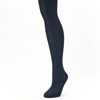 Apt. 9 Women's Solid Knit Sweater Tights