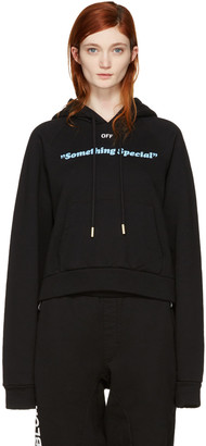 Off-White Black 'Something Special' Hoodie $560 thestylecure.com