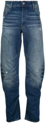 G Star G-Star faded tapered jeans