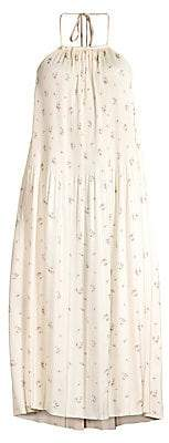 Polo Ralph Lauren Women's Halterneck Floral Tent Dress