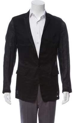 Dolce & Gabbana Linen Deconstructed Blazer w/ Tags