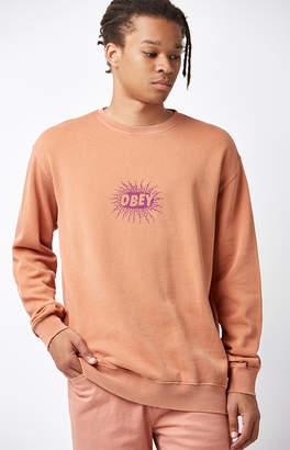 Obey Spazz Crew Neck Sweatshirt