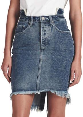 One Teaspoon Blue Society 2020 High Waist Denim Skirt