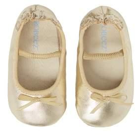 Robeez R) Athena Ballet Strap Crib Shoe