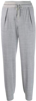 Lorena Antoniazzi tapered tailored trousers