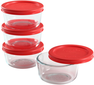 Pyrex Simply Storage 1 Cup Storage Dish Value Pack, 4 Count