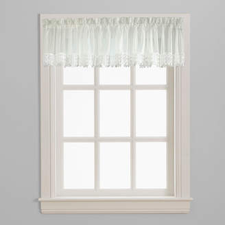 CHF Ashlyn Voile Rod-Pocket Window Valance