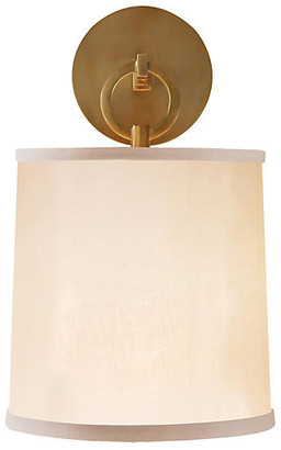 Visual Comfort & Co. French Cuff Sconce - Soft Brass