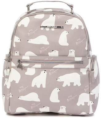 Betsey Johnson Polar Bear Print School Backpack