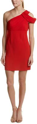 Rachel Zoe Samantha Silk-Bodice Sheath Dress