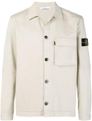 Stone Island denim jacket