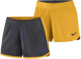 Nike Women's LSU Tigers Dri-FIT Touch Shorts