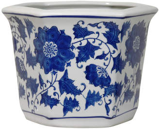 Oriental Furniture Chinese Porcelain Pot Planter