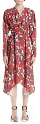 Isabel Marant Tamara Techno Print Dress
