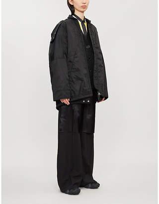 Acne Studios Ottolineny shell bomber jacket