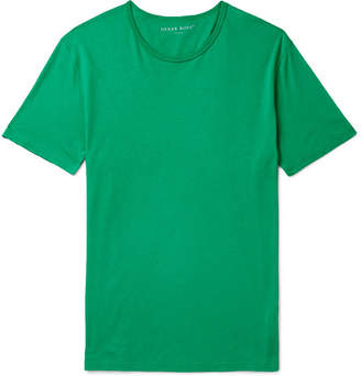 Derek Rose Riley Cotton T-Shirt - Men - Green