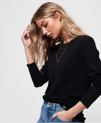 Superdry Premium Modal Long Sleeve Top