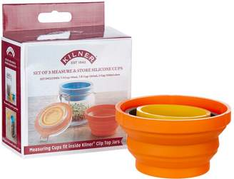 Kilner Measure and Store Silicone Cups (Set of 3)