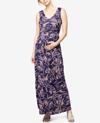 A Pea in the Pod Maternity Maxi Dress