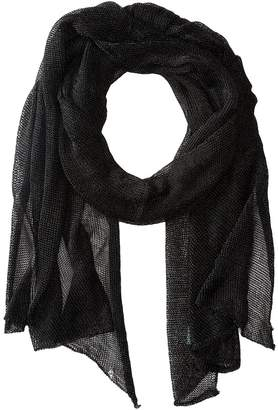 Betsey Johnson Blue by Betsey Love Liquid Mesh Wrap Scarves
