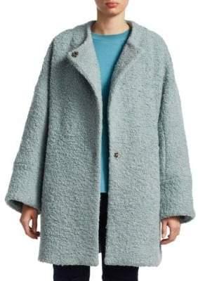 Rachel Comey Trail Boucle Wool Coat