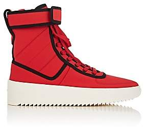 Fear Of God Men's Military Nylon Sneakers - Red