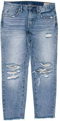 AllSaints Skinny Cropped Jeans