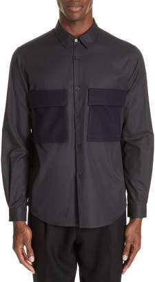 TOMORROWLAND Gabardine Woven Shirt