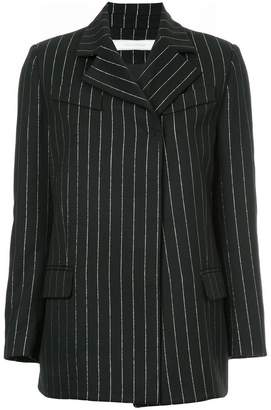 Tiko Paksa metallic striped blazer