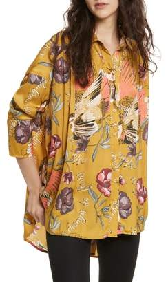 Free People Silky Nights Blouse