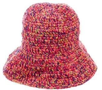Spencer Vladimir Cashmere-Blend Knit Bucket Hat w/ Tags