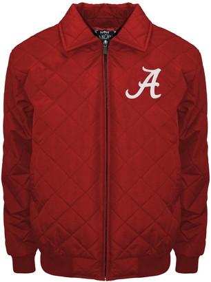 Adult Franchise Club Alabama Crimson Tide Clima Full-Zip Jacket