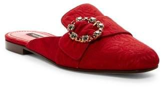 Dolce & Gabbana Embellished Flat Mule