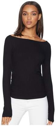 LnA Dree Top Women's Long Sleeve Pullover