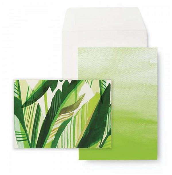 GARTNER STUDIOS Havana Palm Notecard Set