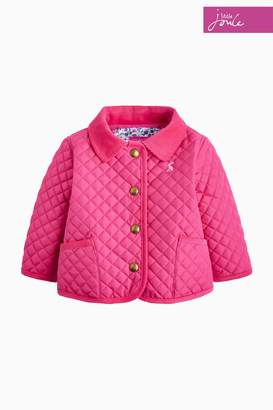 Next Girls Joules Pink Baby Mabel Quilted Jacket