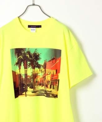 RAGEBLUE (レイジブルー) - 【GILDAN】カラーフォトプリントTシャツ