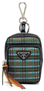 Prada - Mini Nylon Backpack Key Ring - Mens - Multi